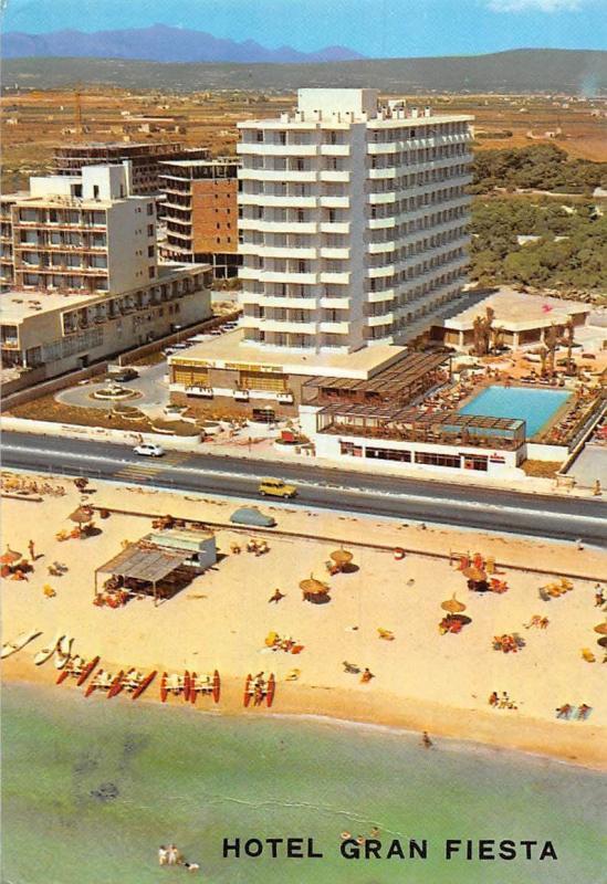 Spain Mallorca Hotel Gran Fiesta Playa De Palma Hippostcard