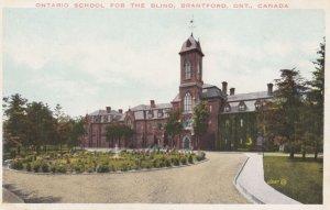 BRANTFORD, Ontario, Canada, PU-1926; Ontario School For The Blind