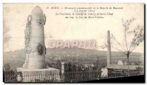 Old Postcard Rueil Commemorative Monument of the Battle of Buzenval The Fouil...