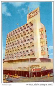 Fremont Hotel and Casino, Downtown Las Vegas, Nevada, NV, Chrome