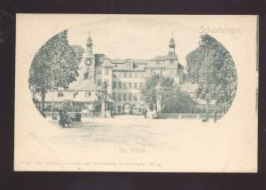 SCHWEIZINGEN DES SCHLOSS GERMANY GERMAN ANTIQUE VINTAGE POSTCARD