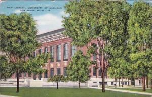 New Library University Of Michigan Ann Arbor Michigan
