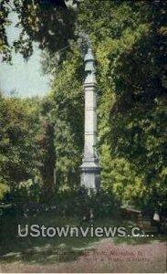 Soldier's Monument - Marietta, Oklahoma
