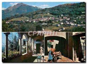 Postcard Modern II Ticino Comano Pittoresco