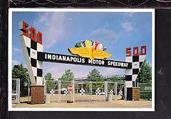 Indianapolis Motor Speedway,IN Postcard