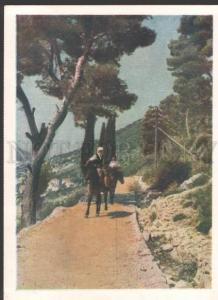 116092 Yugoslavia Croatia DALMATIA Mountains Old russian PC