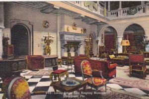 Florida Sarasota John Ringling Mansion Living Room Curteich
