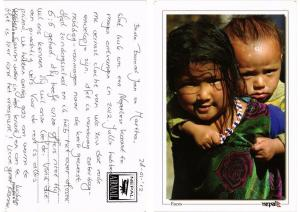 CPM  Nepal - Faces - Children - Folklore  (694297)