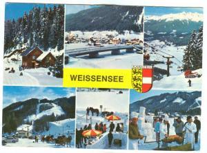 Austria, WEISSENSEE, 1989 used Postcard