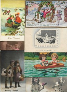 Vintage Happy New Year Postcard Lot of 20   01.16