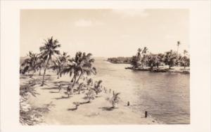 Cuba River Scene Real Photo