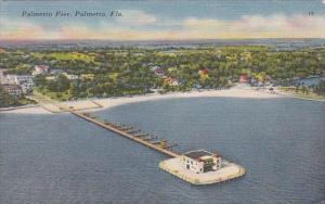 Florida Palmetto The Palmetto Pier 1952