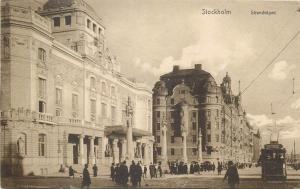 Stockholm Sweden 1910s tramway