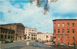 St Johnsbury VT~Jewelers Randall & Whitcomb~Fire Station~1st National Store 1951