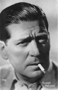 Albert Prejean French film actor, cigarette