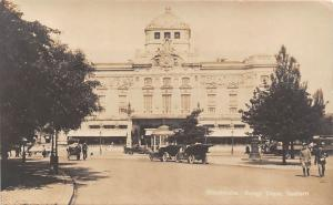 Sweden Stockholm, Kungliga Dramatiska Teatern, Royal Dramatic Theater, aut cars