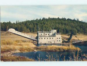 Unused Pre-1980 GOLD DREDGE State Of Montana MT hn6710