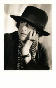 Vita Sackville-West English Author in 1934 by Howard Coster Modern Postcard