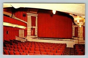 Coldwater MI- Michigan, Historic Tibbits Opera House, Chrome Postcard