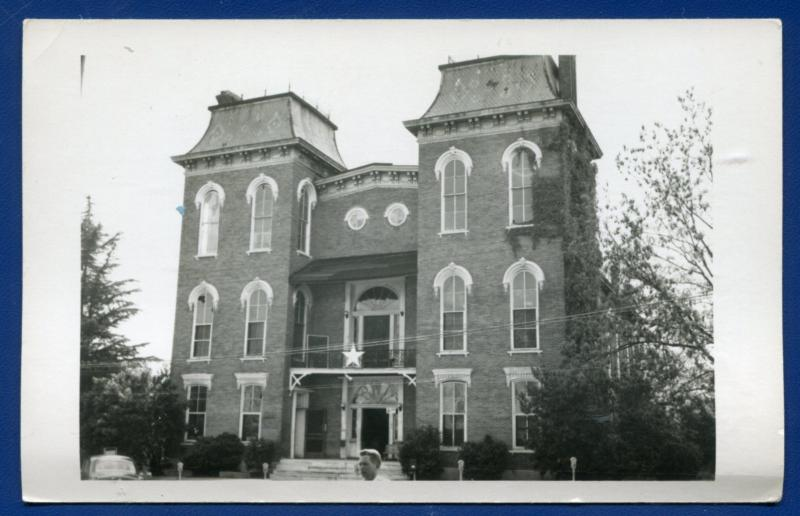 Union Sporings Alabama al Bullock County Court House real photo postcard RPPC