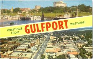Greetings from Gulfport Mississippi MS