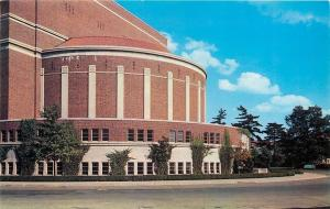 Lafayette Indiana~Purdue University~Hall of Music Band Shell~1950s Postcard
