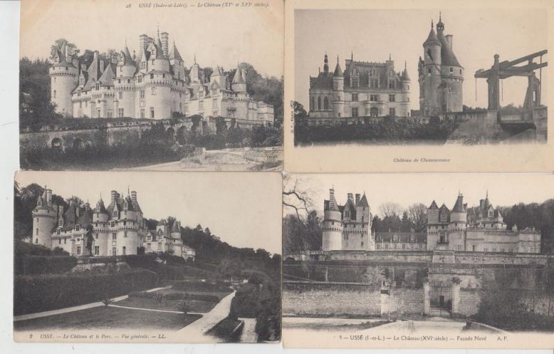 INDRE-ET LOIRE (DEP.37)  1300 Cartes Postales 1900-1940