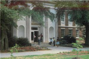 Fort Valley Georgia~State College~Leroy Bywaters Building~1970s Postcard