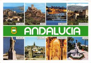 Postcard 2011 Andalucia, Multiview, Spain H6