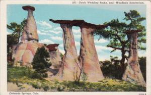Colorado Colorado Springs Dutch Wedding Rocks Near Woodmen Sanatorium