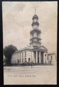 Center Church, Hartford, Conn. The Rotograph Co. A 1773