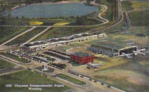 Scenic view, Cheyenne Transcontinental Airport, Wyoming,  PU-1942