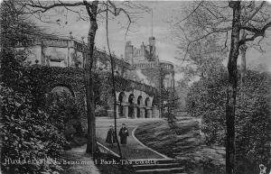 B93171 huddersfield beaumont park the castle uk