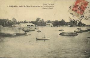 brazil, RIO DE JANEIRO, Baie, Paqueta Island (1910) Stamp