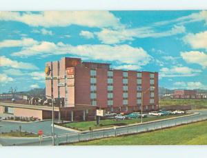 Pre-1980 OLD CARS & QUALITY COURTS MOTEL Nashville Tennessee TN M2881