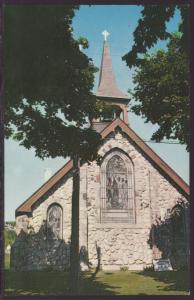 Little Stone Church,Mackinac Island,MI Postcard