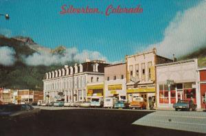 Colorado Silverton Main Street Business Section
