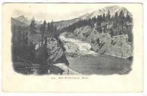 Bow River Falls , BANFF , Alberta , Canada , PU-1906