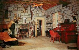 Eureka Springs Arkansas~Trophy Room in the Castle~Inspiration Point~Deer 1960s