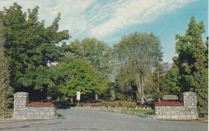 Entrance to City Park , KELOWNA , B.C. , Canada ,  50-60s
