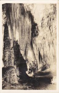 Queen's Room Carlsbad Cavern New Mexico Real Photo