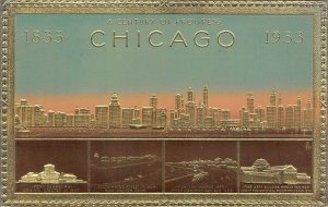 LP31 Chicago  Illinois  Advertising Card Century of Progress
