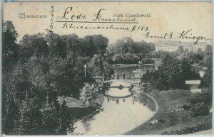 79904 - Polen POLAND - Ansichtskarten  VINTAGE POSTCARD - WARSAW  1908