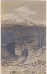 RP: Gateway & Pikes Peak , Colorado , PU-1910