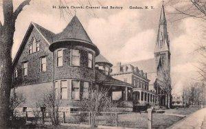 St John's Church, Convent & Rectory in Goshen, New York