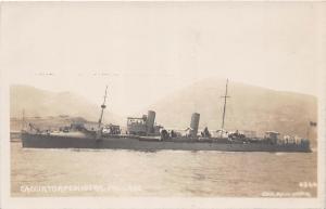 B47/ Italy Italian Navy RPPC Postcard Ship c1920 R. Cacciatorpediniera Pallade 8