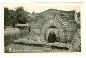 RP; Palestine - Jerusalem - The Church The Virgin, 10-20s