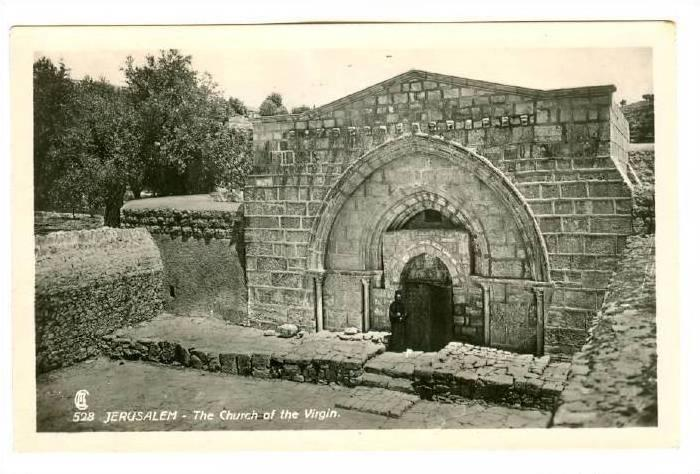 RP; Palestine - Jerusalem - The Church The Virgin, 10-20s