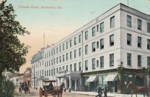 SAVANNAH, Georgia, PU-1909; Pulaski Hotel