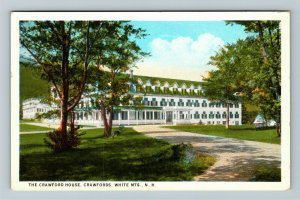 White Mountains NH-New Hampshire The Crawford House Vintage Postcard